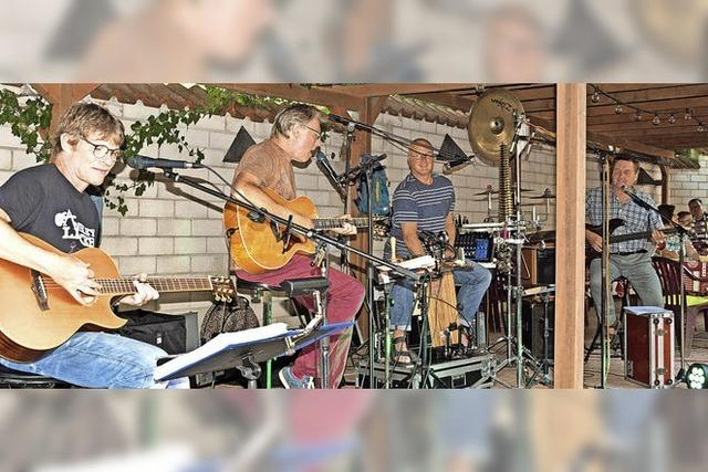Mitreißende Musik am Stadtrain