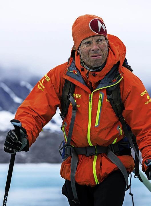 Extrem-Bergsteiger Robert Jasper hat s...e Expedition in Grönland vorgenommen.     Foto: Klaus Fengler