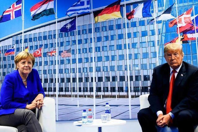 Trump bei der Nato – Spektakel eines Unberechenbaren