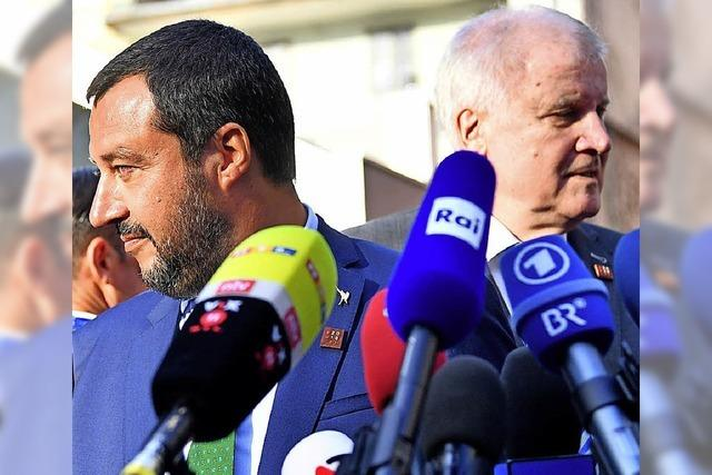 Salvini macht Seehofer wenig Hoffnung