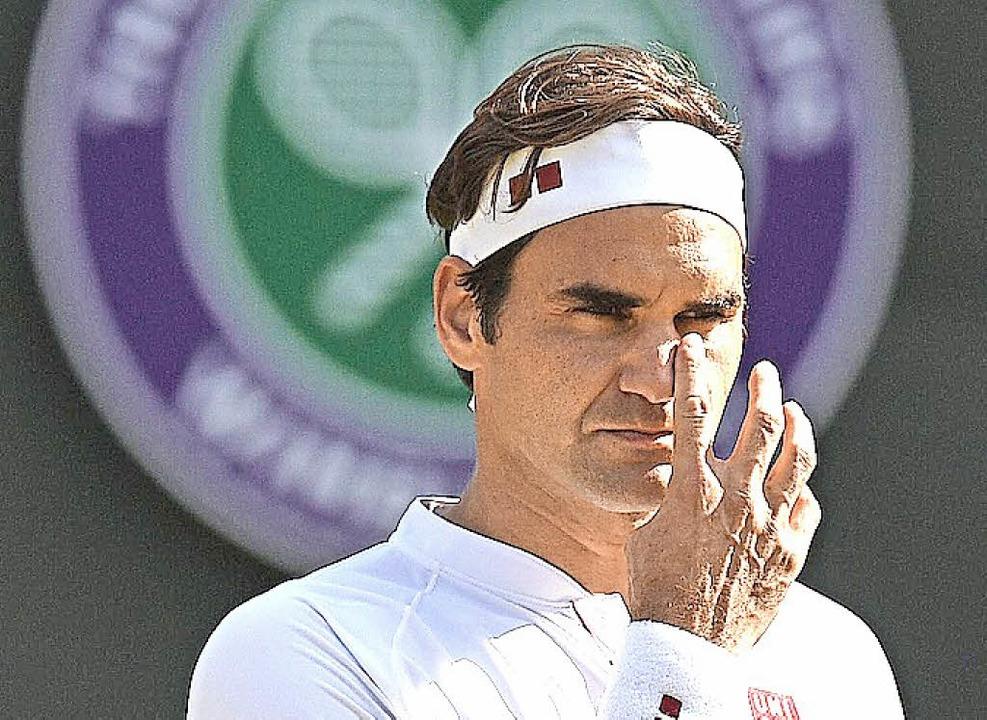 Verlierer Roger Federer  | Foto: AFP