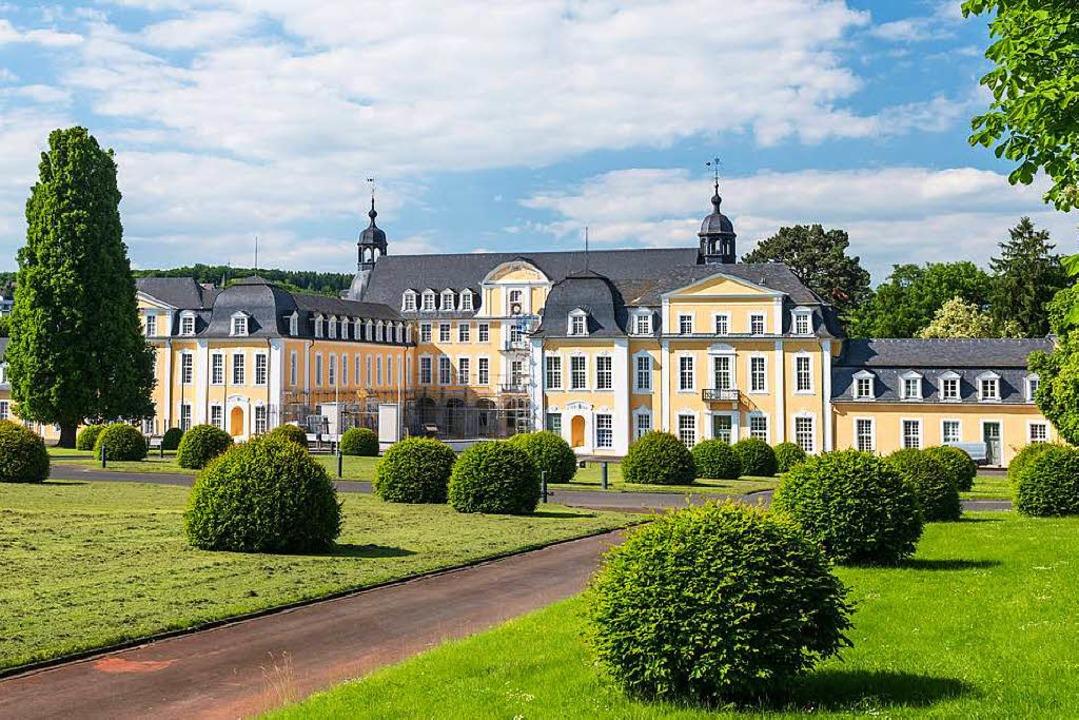 Höhepunkt der berühmten Oranierroute: Schloss Oranienstein in Diez    Foto: Dominik Ketz, © Lahn-Taunus Touristik