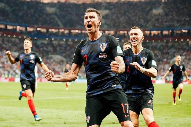 Kroatien steht erstmals in einem WM-Finale