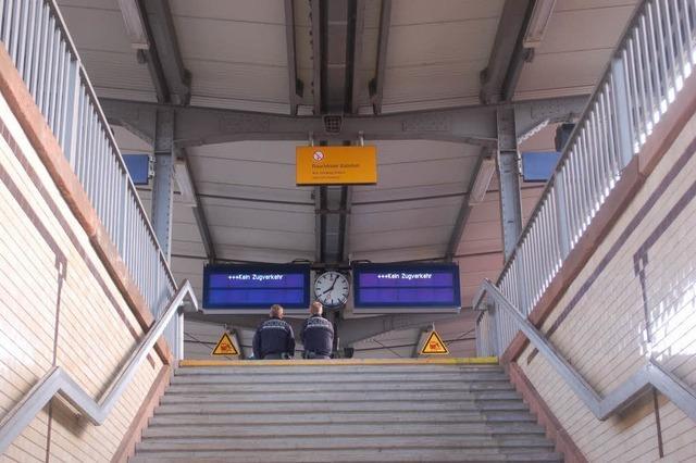 Notarzteinsatz im Offenburger Bahnhof zog Verspätungen im Bahnverkehr nach sich