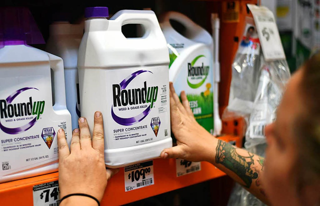 Roundup enthält Glyphosat  | Foto: AFP