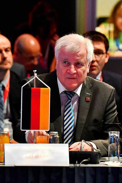 Horst Seehofer  | Foto: AFP