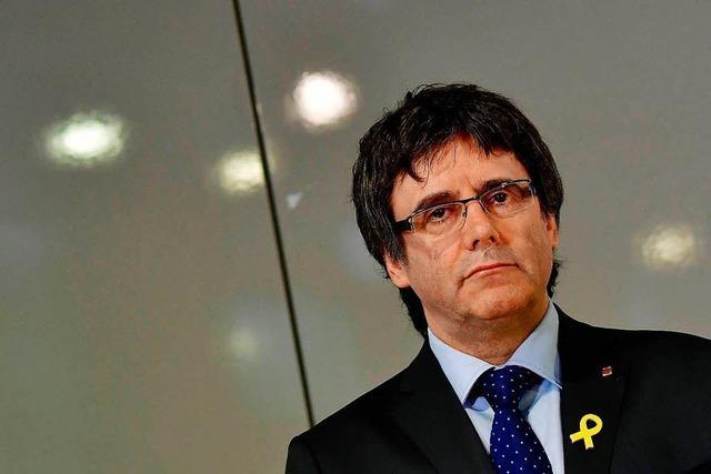 Puigdemont soll an Spanien ausgeliefert werden