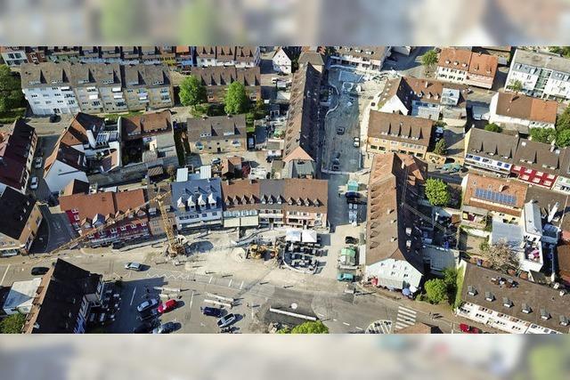 Neugestaltung der Breisacher Innenstadt kommt gut voran