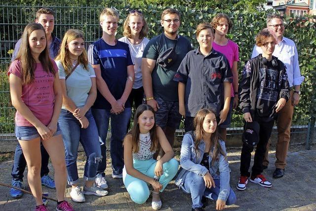 Jugendliche sind voller Tatendrang