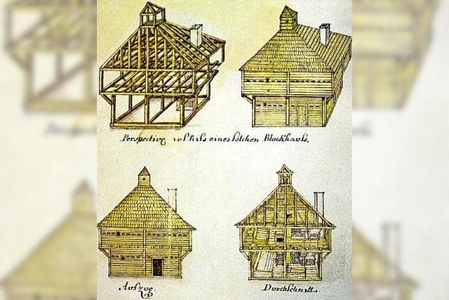 Störk findet Blockhaus-Fundament
