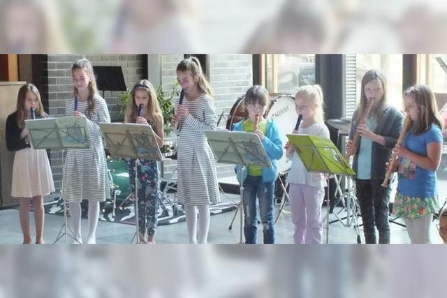 Jubiläum zu 40-jährigen Bestehen der Jugendmusikschule Südschwarzwald in Waldshut-Tiengen