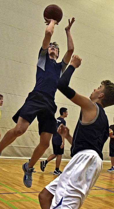 Aufsteiger: Training der U16 in der Sepp-Glaser-Halle  | Foto: m. bamberger