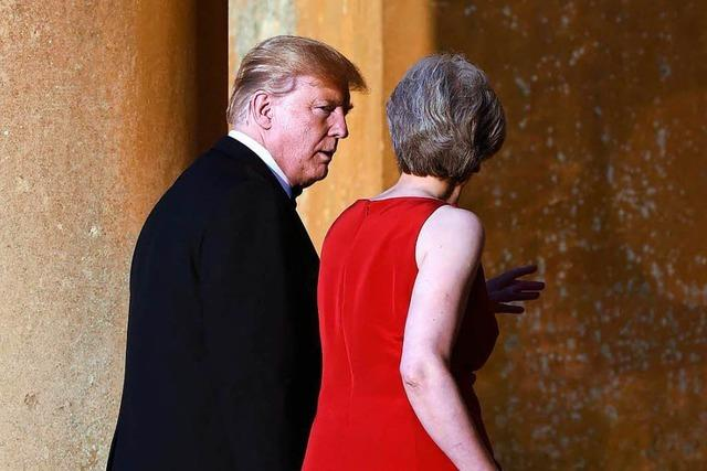 Trump fällt May in den Rücken: Johnson wäre ein