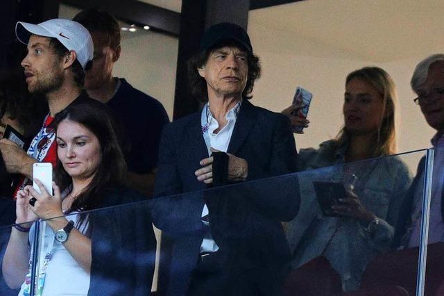 Mick Jagger ist kein Glücksbringer für die englische Nationalmannschaft