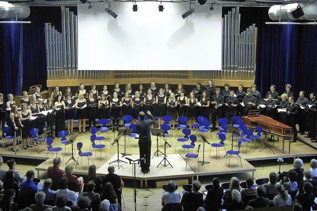 Der Chor der Pädagogischen Hochschule konzertiert