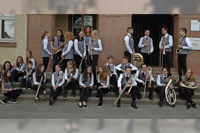 Nachwuchsorchester von Musikvereinen der Region zeigen ihr Können