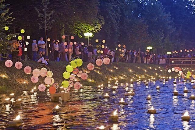 Kinderprogramm beim Lichterfest in Krozingen