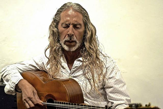 Flamenco entre Amigos mit dem Gitarristen Pedro Sanz