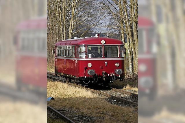 Im Wutachtal gibt es wieder Zugverkehr
