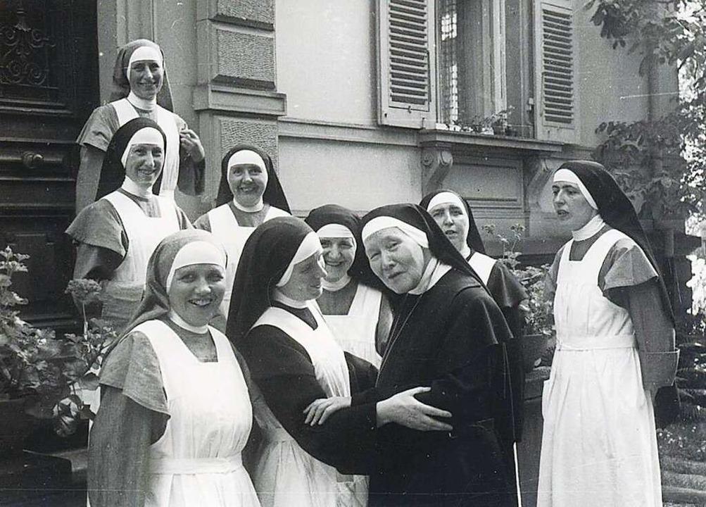 Die  erste Leiterin von St. Hedwig, Sc...esuchte 1960 zum letzten Mal das Haus.  | Foto: Kloster St. Lioba