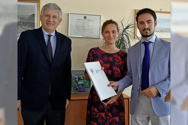 Italienischer Botschafter zu Gast in Freiburg