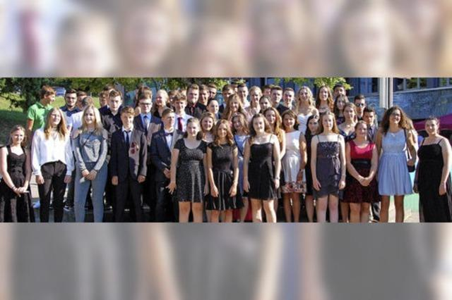 Abschluss für 49 Schüler