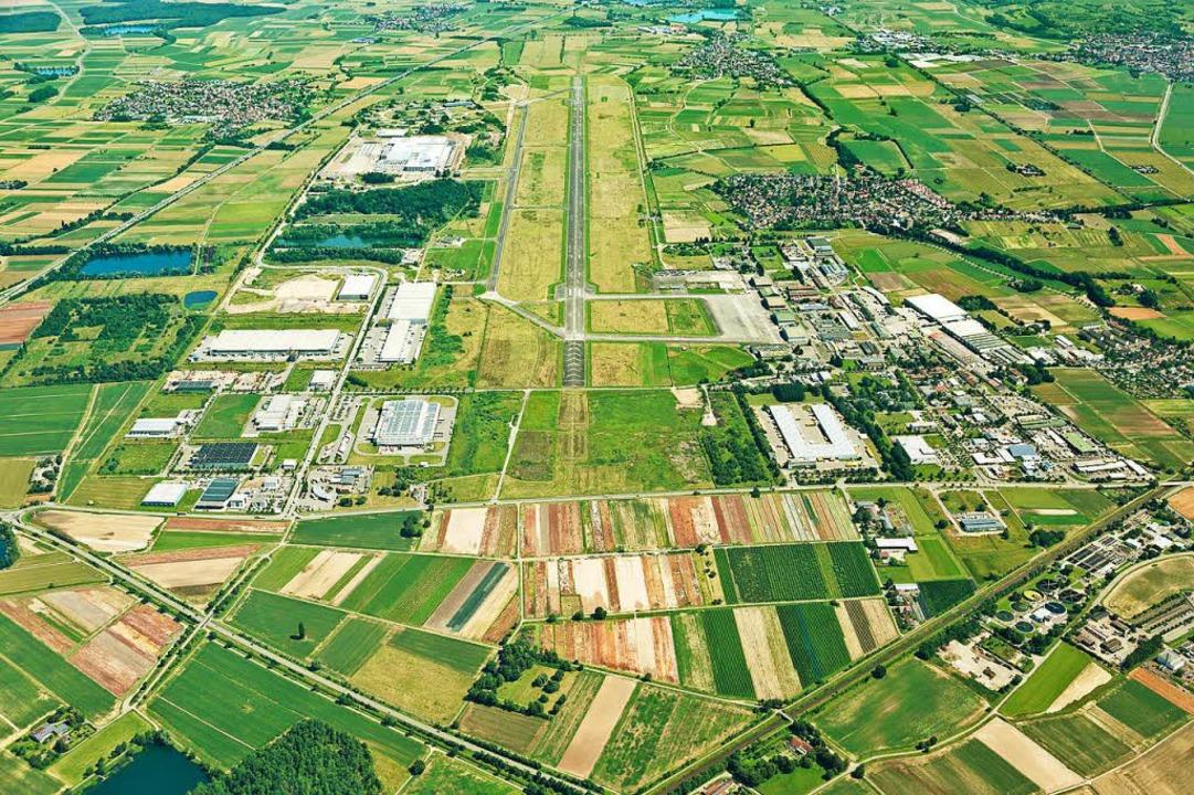 Chancen für vielfältige Entwicklungsmöglichkeiten: der Lahrer Flugplatz  | Foto: Thomas_Hansmann