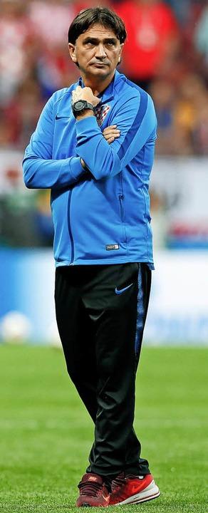 Trainer Zlatko Dalic   | Foto: dpa