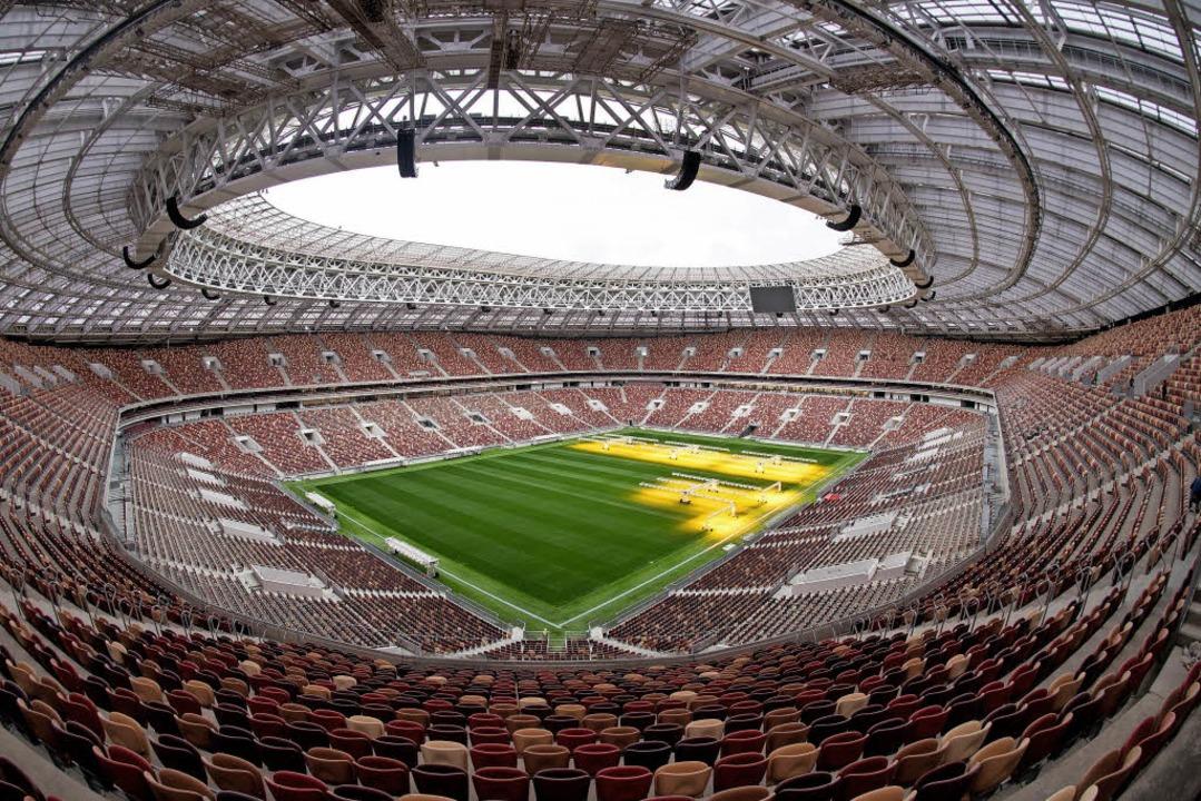 Das Luschniki-Stadion in Moskau.  | Foto: dpa