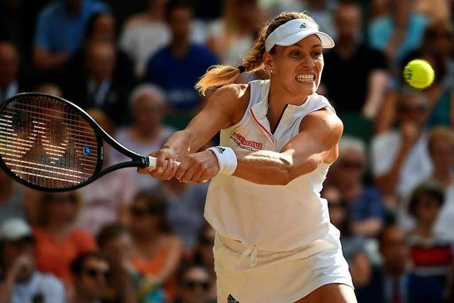 Wimbledon-Coup geglückt: Kerber triumphiert gegen Serena Williams