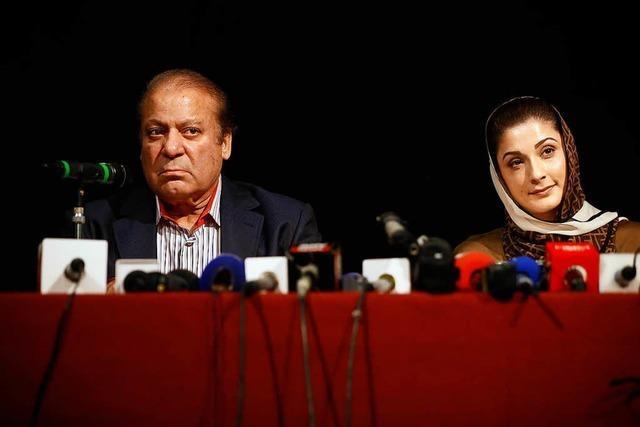 Pakistans Ex-Premier Nawaz Sharif verhaftet