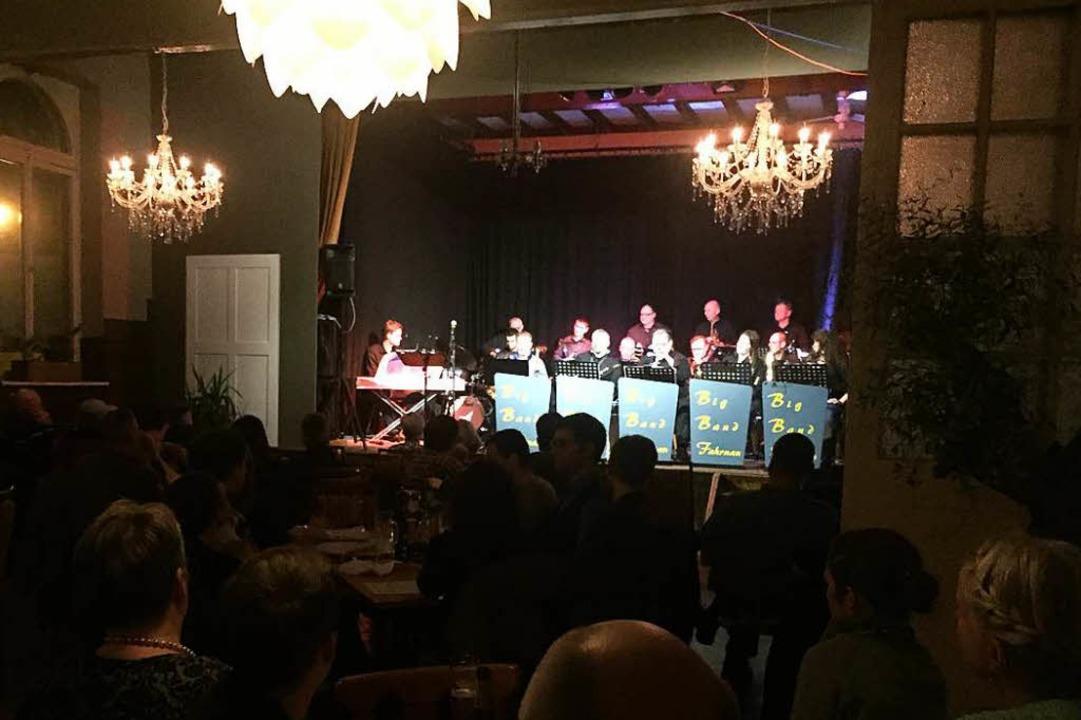 Als Podium für Jazzkonzerte, aber auch...ach Schließung des Restaurants offen.   | Foto: Ivan Di Grazio
