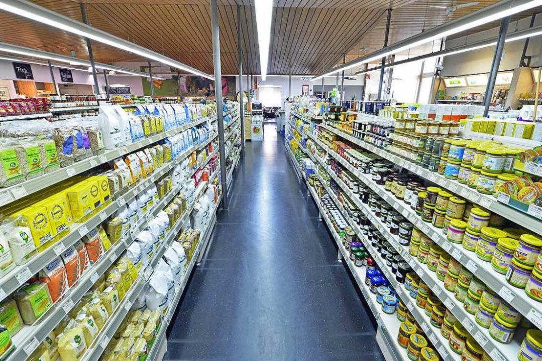 Der Vita-Naturmarkt im Industriegebiet... eines großflächigen Angebots erkannt.  | Foto: Michael Bamberger