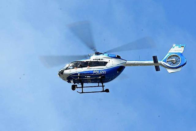 Vermisste Frau entdeckt – Hubschrauberbesatzung mit Laser geblendet