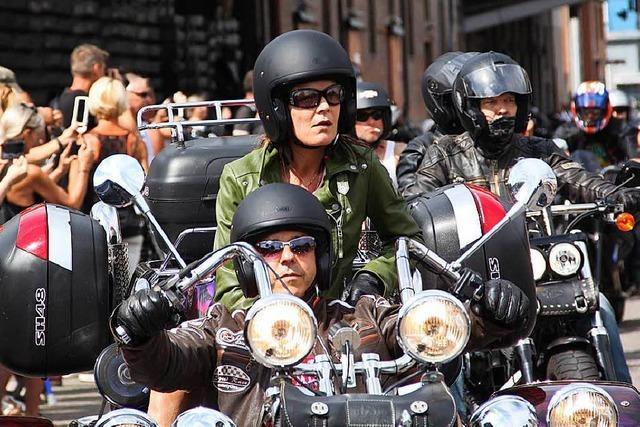Basel war am Wochenende fest in der Hand der Motorradfahrer