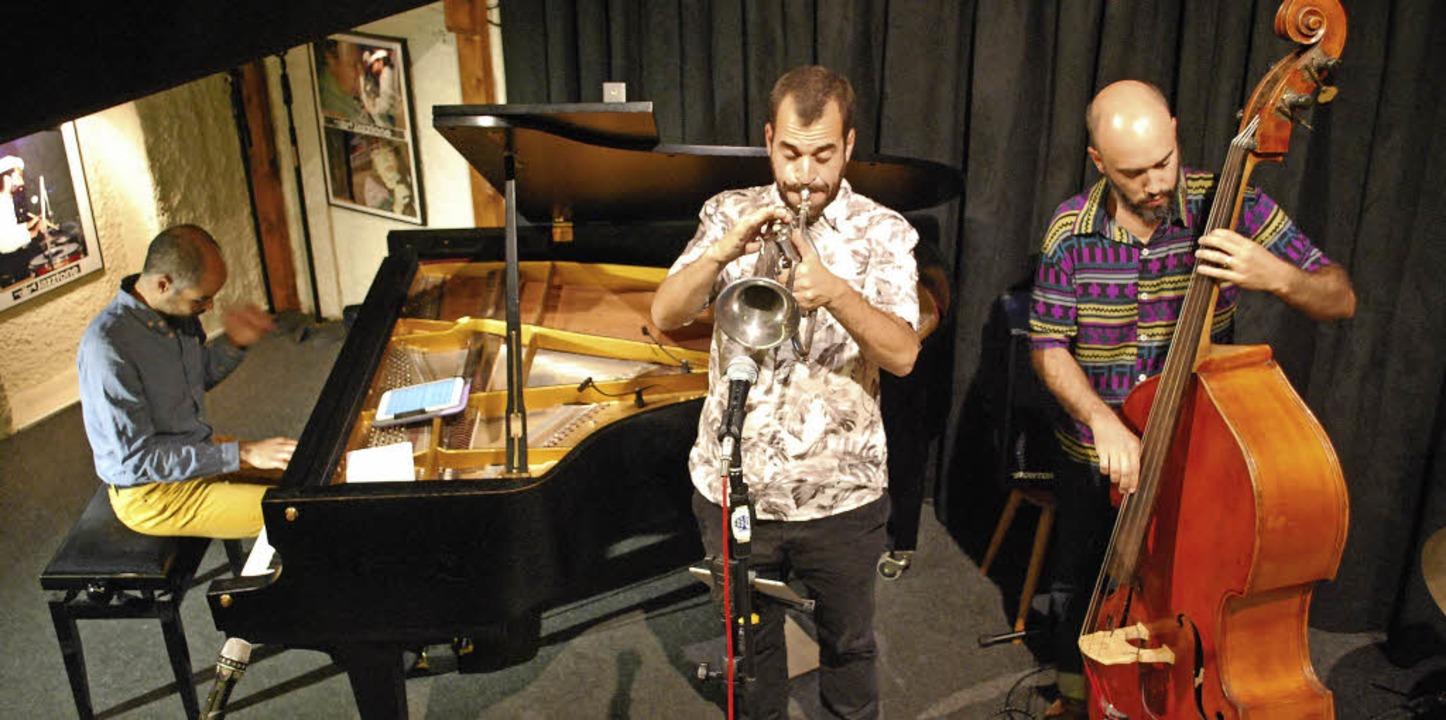 Die Gruppe Ludere mit Philippe Baden P... am Bass beendete die Jazztone-Saison.  | Foto: Thomas Loisl Mink