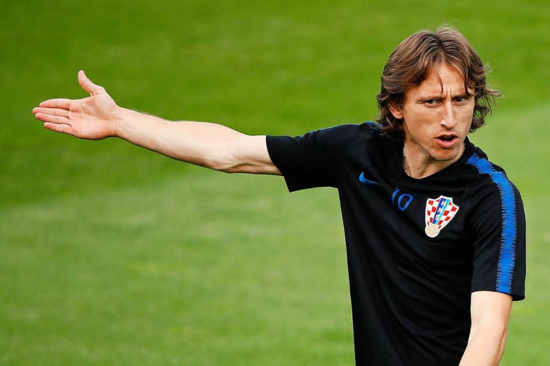 Luka Modric.  | Foto: AFP