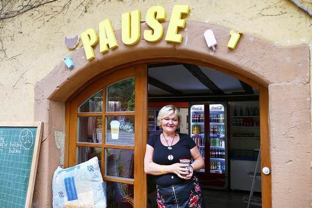 An der Höllentalstrecke in Falkensteig gibt's einen neuen Kiosk – er heißt