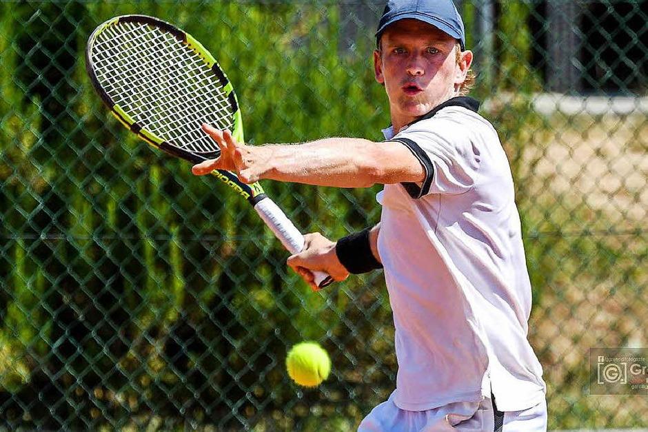 Ohne Niederlage geblieben: Jacob Kahoun (Foto: Gerd Gruendl)