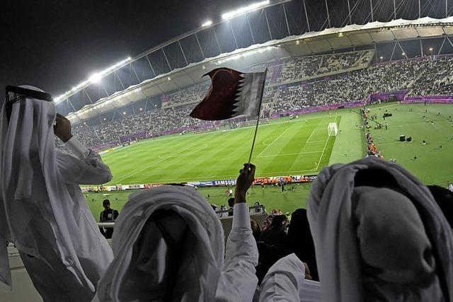 Dunkle Schatten über der Wüsten-WM
