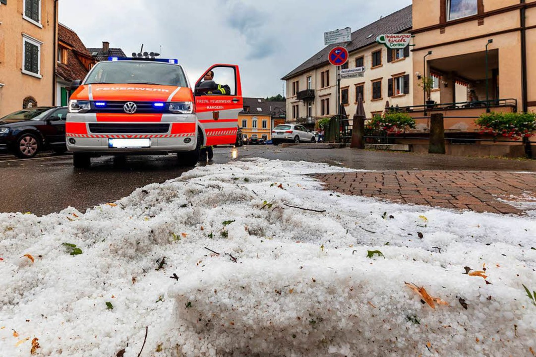 Kurzer Wintereinbruch Mitte Juli    Foto: Dominic Kurz
