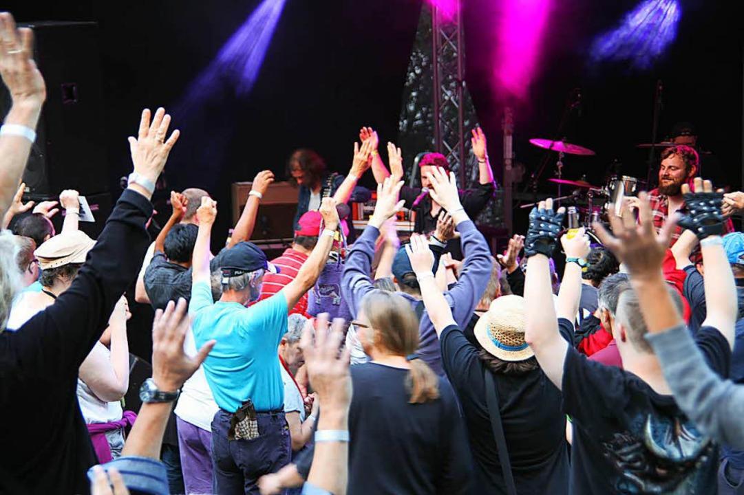 600 Besucher feierten bei Markhof rockt  | Foto: Pressefoto: St. Josefshaus Herten