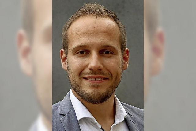 Felix Fischer ist erster Bewerber