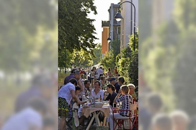 Ein Mitbring-Fest entlang der Vaubanallee ersetzt das große Stadtteilfest