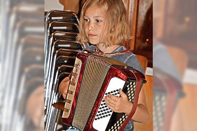 Nachwuchs musiziert