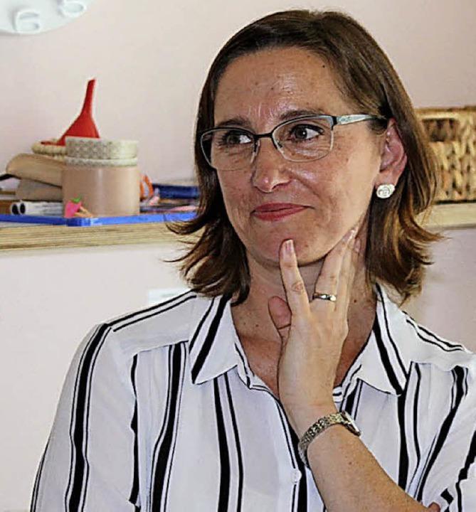 Kindergartenleiterin Iris Teulière ist...schäfstführung der Kaltenbach-Stiftung  | Foto: Rolf Reißmann