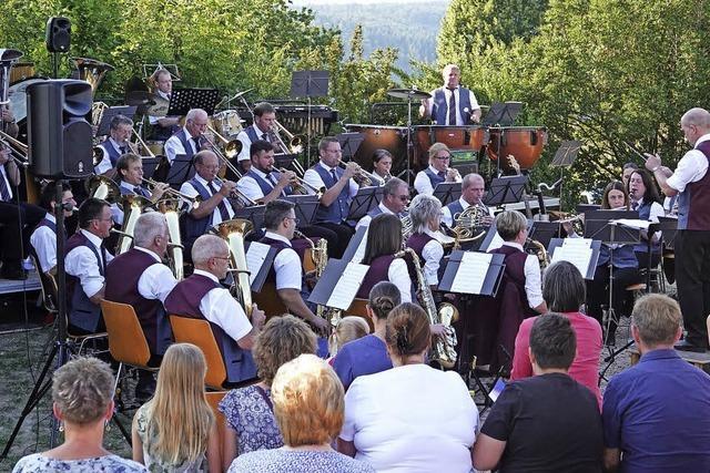Erstes Open-Air-Serenadenkonzert