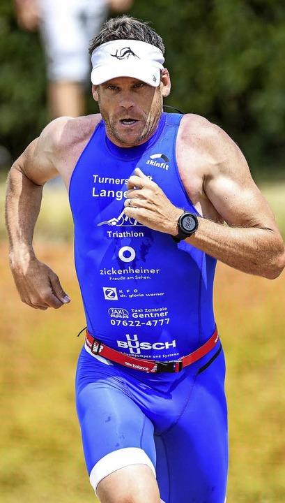 Auch auf der Kurzdistanz ganz vorne: Daniel Wiesner   | Foto: Gerd Gründl