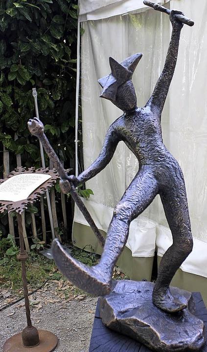 Eindrucksvolle Skulpturen    Foto: Hans Jürgen Kugler