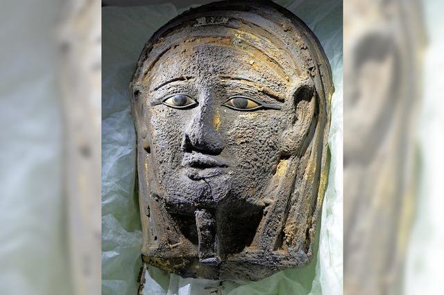 Totenmaske in Ägypten gefunden